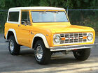 Ford  Bronco Sport 1975 ford bronco sport at ps 302 show quality restoration better than new