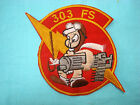 VIETNAM WAR PATCH USAF 303rd FIGHTER SQUADRON