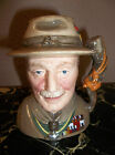 RARE! ROYAL DOULTON LORD BADEN-POWELL D7144 TRAVERS STANLEY COLLECTIONS MINT!
