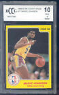 1986 star court kings #17 MAGIC JOHNSON lakers BGS BCCG 10