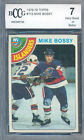 1978-79 topps #115 MIKE BOSSY new york islanders rookie BGS BCCG 7 (centered)