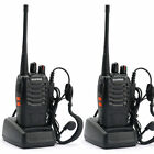 2 Walkie Talkie UHF 400-470MHZ 2-Way Radio 16CH 5W BF-888S Long Range