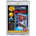 2) ULTRA PRO 55 PT UV One Touch Magnetic Holders for THICK CARDS or Jersey card