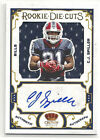 2010 10 PANINI CROWN ROYALE ROOKIE DIE CUTS C.J. SPILLER ROOKIE AUTO JERSEY 50