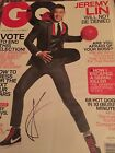 Jeremy Lin Autographed GQ Magazine Signed Lakers Rockets Knicks Harvard