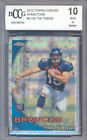 2010 topps chrome xfractors #c100 TIM TEBOW rookie BGS BCCG 10