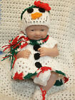 Clothes For 14 Inch Berenguer Reborn Doll  Snow Woman Dress set