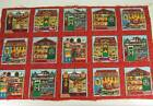 Christmas Village Shops Fabric Concord Sharon Kessler Red Brick Bakery Pet Store