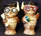 Vintage Lefton Wise Owls Salt and Pepper Set - Very Cute Pair of Hooters!!