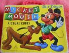 WALT DISNEY MICKEY MOUSE PICTURE CUBES PUZZLE GERMANY PINOCCHIO PLUTO VINTAGE