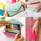 8 Color Crown Multi Propose Envelope Purse Wallet For Galaxy S3 S4 iPhone5 4 4S