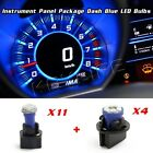 BLUE LED KIT FOR 92-95 Jeep Wrangler INSTRUMENT CLUSTER PANEL SPEEDOMETER LIGHT