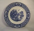 A second English old blue and white Alton Ware pottery plate L85
