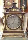 Antique Double Fusee English Clock 8 Day