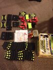 Artin Slot Car Truck Track 2 Sets Stock Race Lot With New Repair Parts