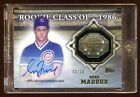 GREG MADDUX 2014 TOPPS AUTOGRAPH GOLD #D 10 AUTO ROOKIE RC CLASS OF 1986 HOF !