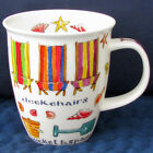 Dunoon Beach Day Deckchairs Mint Condition Mug Imported from England