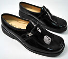 Aster 1913 Black Patent Leather Penny Loafer Dress Shoes 37