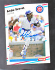 *ANDRE DAWSON* 1988 Fleer Hand Signed Auto CHICAGO CUBS