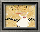 Pasta Chef Framed Art Print By Dan Dipaolo - 11x9