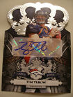 TIM TEBOW RC AUTO PANINI CROWN ROYALE SERIALIZED 299 299 mint