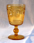Bartlett Collins Amber Manhattan Tall Water Goblet, 5-3/4