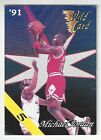 RARE! - (5 5) - 1991 NBA Wild Card #1 - Michael Jordan