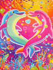 Lisa Frank Colorful Dancing Dolphins 45 Piece Puzzle New