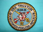 VIETNAM WAR PATCH,  Navy NUCLEAR POWERED SURFACE VESSEL USS TRUXTUN DLGN-35