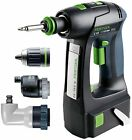 Festool Cordless Drill C 15 Li 5,2-Set GB 240V 564556 FREE NEXT DAY DEL