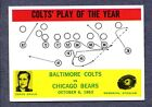 1964 Philadelphia Football Cards 5