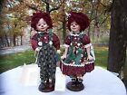 Raggedy Ann Sweet  Anne & Andie Porcelain Doll w/ certification by Battocletti