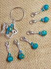 Handmade Stitch markers for Crochet and Knitting Progress Keepers