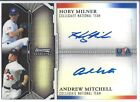 2011 BOWMAN STERLING DUAL AUTO BLK REFRACTOR MILNER MITCHELL