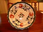 LOVELY EARLY ADAMS ROSE DESIGN PLATE, 10 1/2