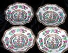 CoalPort Made in England Indian Tree berry bowls dishes Scallop Plates set of 4