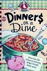 GOOSEBERRY PATCH DINNERS ON A DIME HARDCOVER SPIRAL BOUND NEW MINT CONDITION!