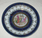 Antique/Vintage German Hand Painted China Plate, IPF, Dancing Women, 8 1/2