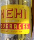Soda Bottle Nehi Menominee Wis 1940's Acl 7 Oz Advertising