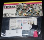 Preiser, Vintage, New in Package,  Item # 601,  HO scale,  Circus Caravan kit