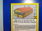 ATSF 6 ROOM SECTION HOUSE BY BLAIR LINE N SCALE  094