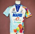 MAPEI DIAMONDBACK VINTAGE CYCLING JERSEY BY NALINI SIZE 6 XL XXL NEW