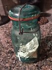 Vintage Ball Ideal Blue Mason Jar Bicentennial Celebration 1776-1976 With Eagle