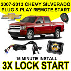 2007-2013 CHEVY SILVERADO PLUG & PLAY REMOTE START SYSTEM CHEVROLET GM SIERRA