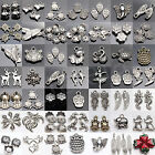 Wholesale Tibet Silver Plated Spacer DIY Craft Pendant Charm Jewelry Findings