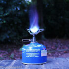 Portable Gas Stove Furnace Burner Outdoor Camping Hiking Picnic Cookout + Pouch