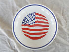 Syracuse China ** US FLAG * Red White & Blue * 9-3/4