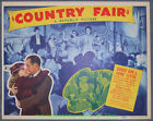 COUNTY FAIR 5 Diff. LOBBY CARD size Movie Poster 1941 EDDIE FOY JR.  JUNE CLYDE
