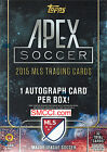 2015 Topps MLS Soccer Unopened Factory Sealed Blaster Box GUARANTEED Autograph