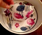Spode JUNE Teacup and Saucer Roses Lilies 5